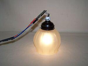 kleine alte kugellampe art deco bauhaus lampe deckenlampe ebay. Black Bedroom Furniture Sets. Home Design Ideas