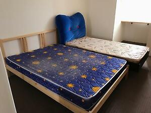 Bed frame with mattress available on 2/12/16 Burwood Burwood Area Preview