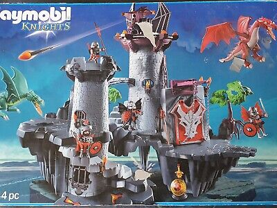 Playmobil Dragon Knights Fortress Castle (5996) Vgc