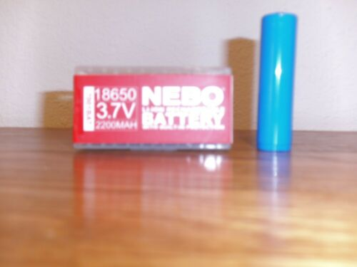 RECHARGEABLE NEBO 7001BAT   BACKUP BATTERY FOR THE 7001 TRANSCEND HEAD/WORKLIGHT