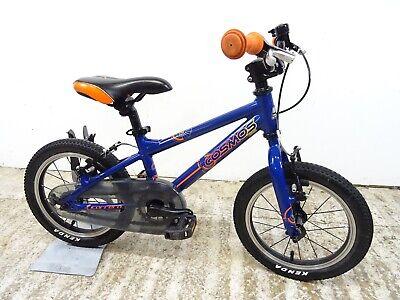 "Carrera Cosmos 14"" Boys Kids Hybrid Bike Very Light Alloy 8"" Age 4-6 Tidy GC"