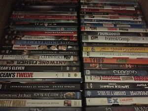 Lot of 100 dvds