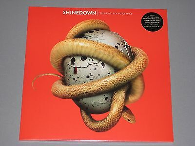 Shinedown Threat To Survival Gatefold Lp   Cd Included New Sealed Vinyl