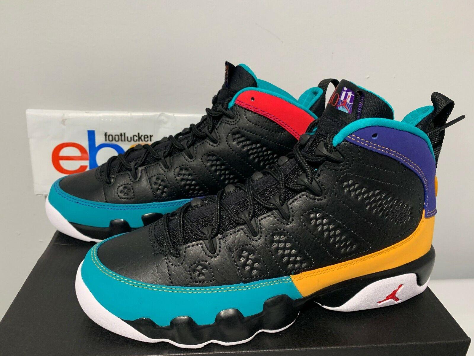 ad8a64537fab Nike Air Jordan 9 Retro Dream It Do It Black Red Concord Kids Toddler Boy  4C-7Y. item
