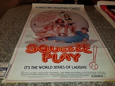 ORIGINAL MOVIE POSTER SQUEEZE PLAY 1 SHEET  1975