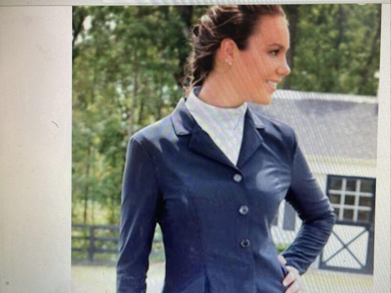 FITS New Zephyr Mesh Dressage Show Coat - Ladies Med