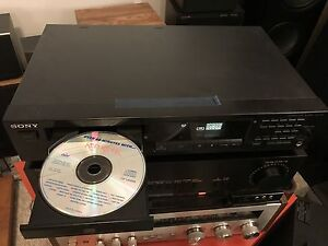 SONY Single CD Disk Player CDP-315 optical digital out no remote