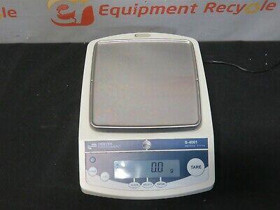 Denver Instruments S-4001 4000g Laboratory Analytical Balance Scale