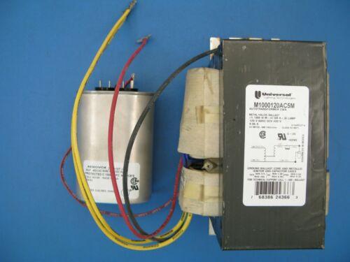 (1) NEW Universal Lighting M1000120AC5M 1000 WATT M47/H36 balast with capacitor