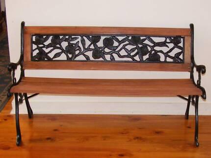 WOW A ORNATE RESTORED BENCH /SEAT ONLY $160 Morphett Vale Morphett Vale Area Preview