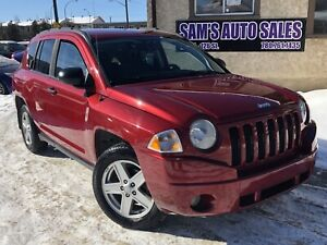 2007 JEEP COMPASS SPORT 4WD AMAZING RIDE