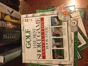 More golf instruction books