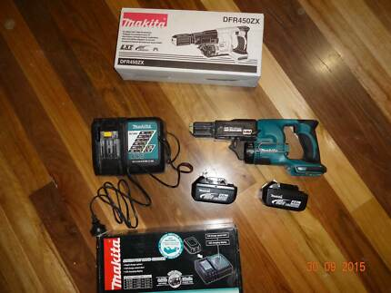 Makita Cordless Autofeed screw gun - DF450ZX Mount Riverview Blue Mountains Preview