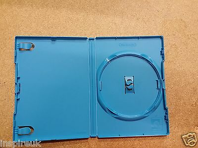 5 New Genuine Original Official Nintendo Wii U Replacement Game Cases Amaray Blu