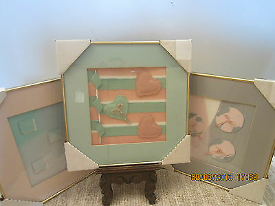 SET OF3, MODERN, HAND MADE PAPER WORKS OF ART
