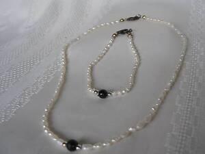 Freshwater Pearl necklace & bracelet-Brisbane/Ipswich pick up Brisbane South West Preview