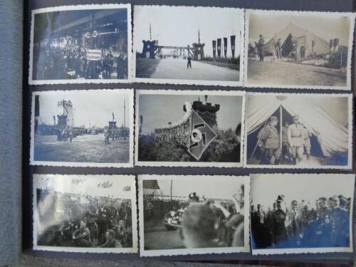 WW2 ORIGINAL WWII GERMAN PHOTO Album military   RAD