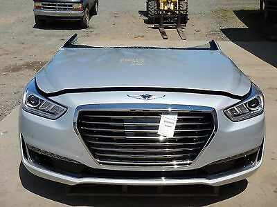 2017 Genesis G90 Front End Assembly Clip Nose New IIHS Test Car 3.3L Twin Turbo