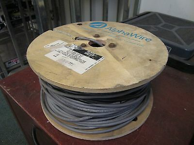 Alpha Wire 226 Wire Cmg Ft4 22 Awg 6-conductor Approx 253ft New Surplus