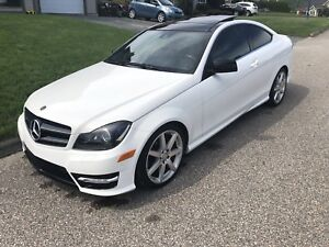 Mercedes C350 4matic AMG package