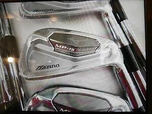 """NEW"" Mizuno MP-15 Iron set ( 4 to PW ) Dynamic Gold S300 Stiff Marden Norwood Area Preview"