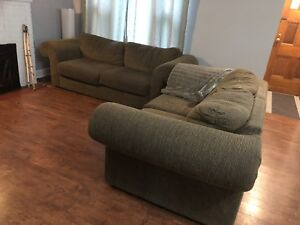 Couch & loveseat