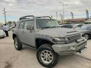 2012 Toyota FJ Cruiser GSJ15R Grey 5 Speed Automatic Wagon Cannington Canning Area Preview