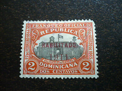 Stamps - Dominican Republic - Scott# 177 - Overprint