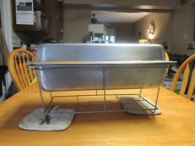 Vollrath Commercial Stainless Chaffer Chafing Dish Server Party Buffet Warmer