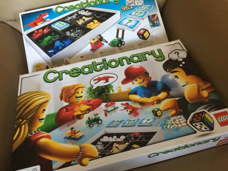 Lego 3844 Creationary Toys Indoor Gumtree Australia Boroondara