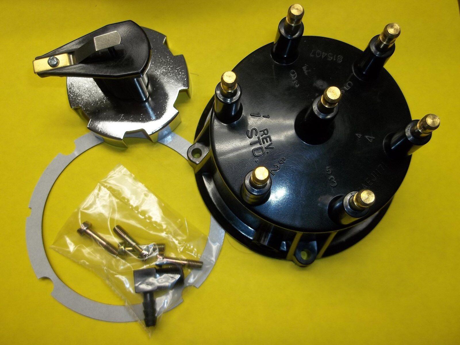 MerCruiser distributor cap rotor kit Thunderbolt IV V HEI Ignitions 815407Q5 4.3