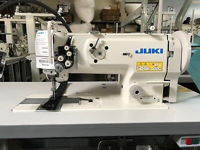 Walking Foot Lockstitch Machine - Juki LU-1560N Double Needle Walking Foot Lock-stitch Sewing Machine Complete NEW