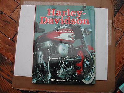Harley-Davidson : The Making of a Cult by Peter Henshaw (1994, Hardcover)