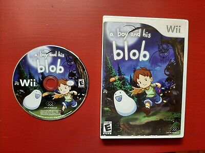 A Boy and His Blob  ** NINTENDO WII **