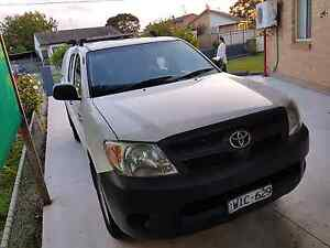 Toyota hilux.work mate 10450 Dallas Hume Area Preview