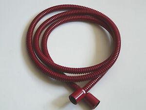 Manguera-de-ducha-Metal-Rojo-RAL-3003-Flexible-metalico-mano