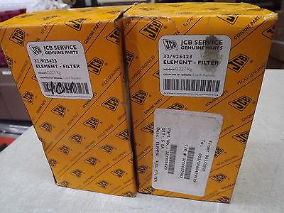 Jcb 526s Loadall 3cx P21 52050 Fuel Filter New Oem 32925423 Nos Lot Of 2