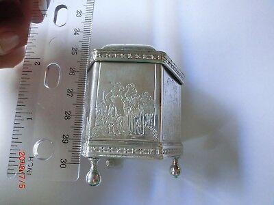 Old Fashioned Casket Box - Metropolitan Museum of Art- American Sterling Silver