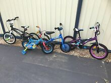 Girls & boys bikes monster high & playskool balance bike Caboolture Caboolture Area Preview