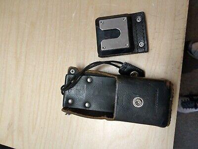 Motorola Radio Leather Carry Case Swivel Holster Ntn8037a Belt Clip 42o5857b08