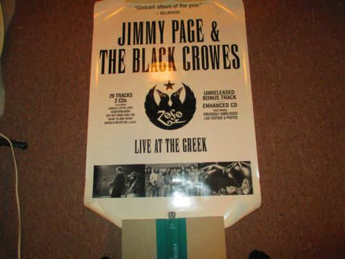 """Jimmy Page & The Black Crowes ZoSo Live At The Greek Promotional Poster, 36""""x24"""""""