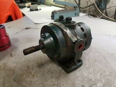 New Roper Type 17 Hydraulic Gear Pump Figure Ih5 Spec 1278 58 Dia 12 Npt