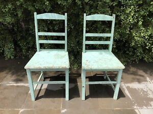 2x Cherrywood Chairs