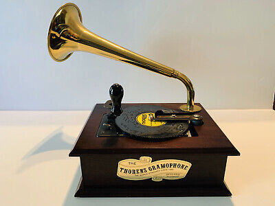 "THORENS GRAMOPHONE AD30 AUTOMATIC 4 1/2"" DISC PLAYER WITH 10 DISCS"