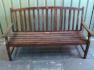 LARGE WOODEN GARDEN BENCH Lynwood Canning Area Preview