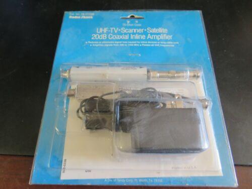 Radio-Shack UHF Satellite Coaxial Inline Amplifier