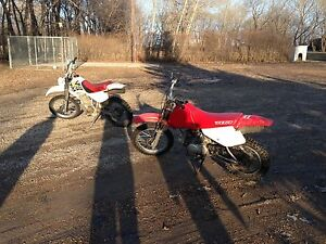 2001 xr 70 and 99 xr 80