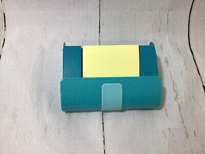 Post It Notes Fashion Collection Turquoise Green Handbag Pop Up Note Dispenser