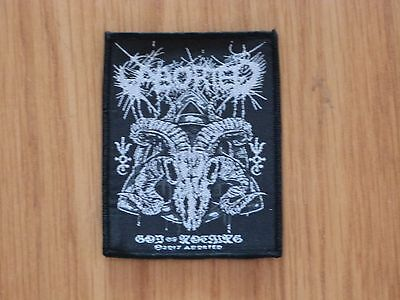 ABORTED - GOD OF NOTHING (NEW) SEW ON W-PATCH OFFICIAL BAND MERCHANDISE