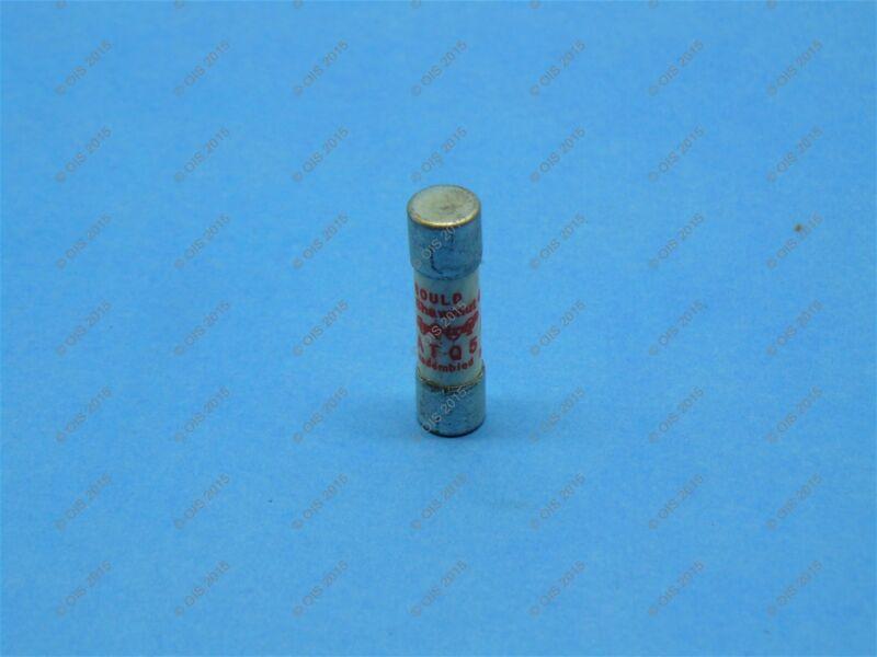 Shawmut ATQ5 Time Delay Fuse Midget 5 Amps 500VAC Tested